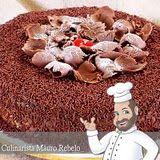Bolo de Brigadeiro do Culinarista Mauro Rebelo com 3 recheios