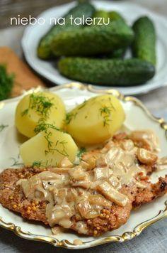 Szybkie mięso w sosie z musztardą francuską. Aj, aj taki pyszny, prosty obiad, że palce lizać.Na codzienny obiad i świąteczny stół.