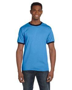 5cd71fb0a5ce 923 Anvil Heavyweight Ringer T-Shirt Sleeves, Tees, Cotton, Walmart, T