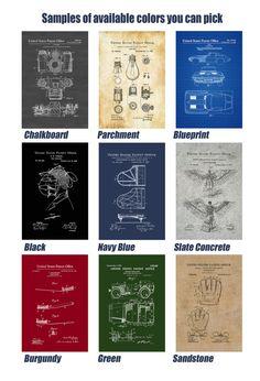 Planetarium Patent 1909 Patent Print Wall Decor Outer