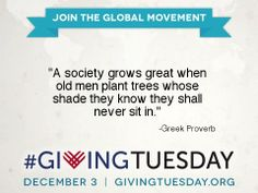 Giving Quotes Givingtuesday Givingtuesday On Pinterest