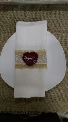 Anel de guardanapo para casamento