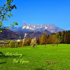 Bad Vigaun mit Untersberg Bad, Mountains, World, Nature, Travel, The World, Naturaleza, Viajes, Destinations