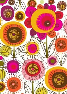 Retro-floral