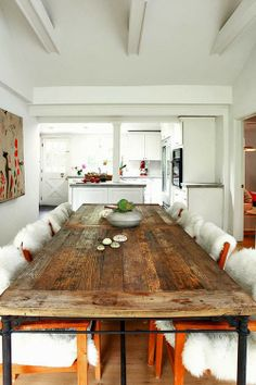 Up-cycled Wood Table