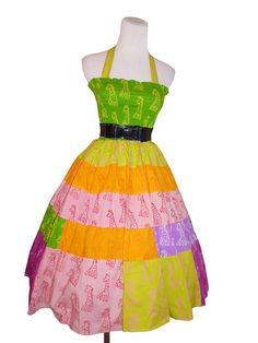 1950s Rockabilly Vintage Style Summer Dress  in by Darmianifashion, $69.00