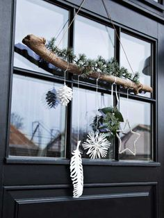 DIY: De fineste kranse til din dør - Rustikale Weihnachten