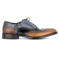 Scarpe Classiche Eleganti Uomo Bicolore Vintage Men s Dress Shoes Full  Brogue 64c38412f5b