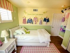 A Multifunctional Little Girl's Room in a Small Space | Kids Room Ideas for Playroom, Bedroom, Bathroom | HGTV