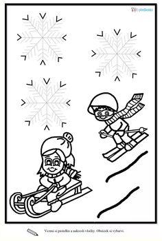 Winter Activities For Kids, Games For Kids, Crafts For Kids, Winter Schnee, Pre Writing, Diy Crafts Videos, Kindergarten, Mandala, Creations