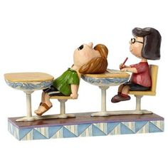 Jim Shore® Peanuts® School Days With Marcie and Peppermint Patty Figurine, , large