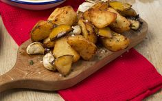 These lemony potatoes will make for a deliciously crunchy addition to your   Christmas spread