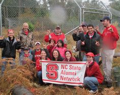 Alumni from the Pacific Northwest volunteer with Wolf Haven International