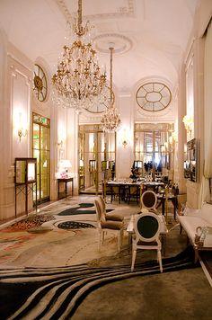 Au Meurice .. Paris  ~wealth and luxury
