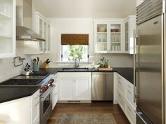 Best U Shaped Kitchen Designs for Small Kitchens : Shaped Room ...