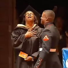 WATCH: Marine Corporal surprises mom at her college graduation