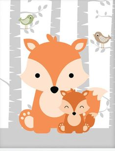 Quilt Baby, Woodland Baby, Woodland Nursery, Woodland Animals, Decoration Creche, Baby Poster, Diy Shower, Shower Ideas, Shower Party