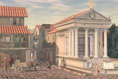 Templo de Fortuna Augusta, Pompeii.