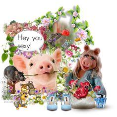 """""""Miss Piggy"""" by ilona2010 on Polyvore"""