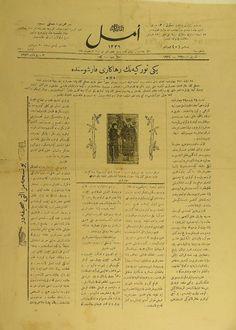Amasya'da Emel Gazetesi 1924