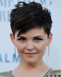 Ginny Goodwin, messy pixie haircut