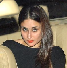 Kareena Kapoor arriving at Karan Johar's party. #Bollywood #Fashion #Style #Beauty
