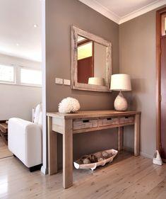 Entry dark door washed furniture darker not white walls