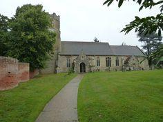 All Saints, Easton: church path by Basher Eyre 2010