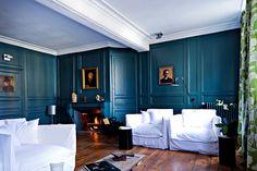 La Maison Pavie - Dinan - Voyage contemporain dans une maison typiquement dinardaise inspirée par un explorateur du XIXème