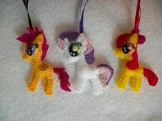 CMC Handmade Mini Felt Ornaments