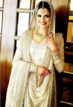 pakistani bride dubatta styles - Google Search