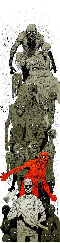 The Walking Dead by James Harren
