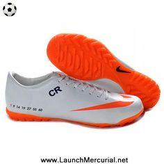 851ca055e150 New Nike Mercurial Vapor IX TF Victory V CR7 Orange White Soccer Cleats  Nike Football