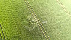 Crop Circle at Macmillian Way, Nr Tarlton, Gloucestershire. United Kingdom. Reported 19th April 2015
