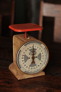 Polly Prim Antique Scale  Great Photography Prop by PrimitiveMoose, $30.00