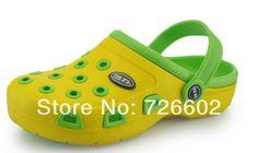 Warrior 2014 parent-child shoes hole shoes sandals eva hole sandals slippers bird nest $49.00