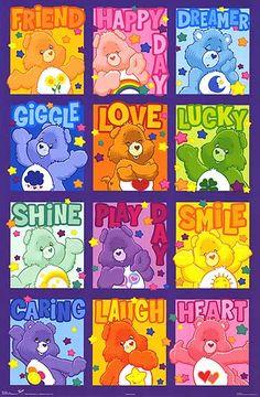 My nickname is care bear and my soul bear is cheer bear