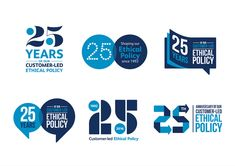 Celebrating Co-op Bank's difference Typography Logo, Logo Branding, Branding Design, Logo Design, Graphic Design, 25 Year Anniversary, Anniversary Logo, Co Op Bank, Dinosaur Life