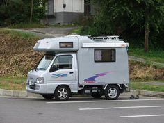 Mitsubishi. A cute little RV but only available in Japan.