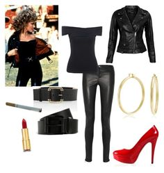 """Grease inspired outfit!"" by hec1800 on Polyvore"