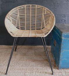 We love to go natural and theres nothing more beautful than a natural rattan chair/Bucket Chair. Great for a bedroom chair, dining chair or outdoor use.