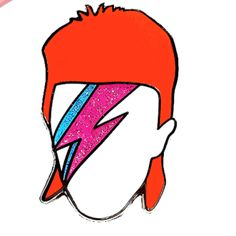 David Bowie was truly an inspiration on so many fronts & his legacy will live forever. Let him live forever on your jacket with this beautiful pin. Pin by D