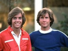 """How come my older cousin always """"gave"""" me Parker Stevenson and she """"got"""" Shaun Cassidy...lol"""