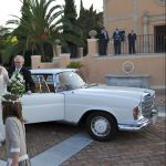 llegada novia boda Sotogrande