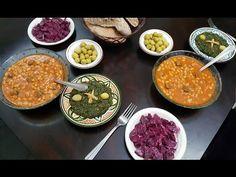 وجبة مغربية شتوية، متنوعة و لذيذة 💕💕+ اللوبية مع سر نجاحها، - YouTube