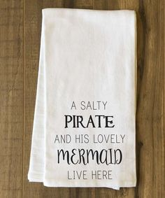 Mermaid Tea Towel $14.99 www.mermaidhomedecor.com - Mermaid NEW (2)