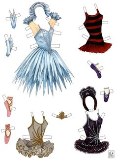 Sabrina the Prima Ballerina Paper Doll circa 1990s from B Shackman  Illustration by Irene Peters Stehly