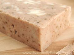 Rustic Cinnamon Hazelnut Coffee Soap