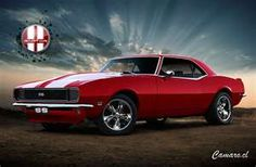 My dream car...'68 Camaro RS/SS. Its even the right color! lol.