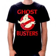 Ghostbusters - Ghost Call T-Shirt - Black